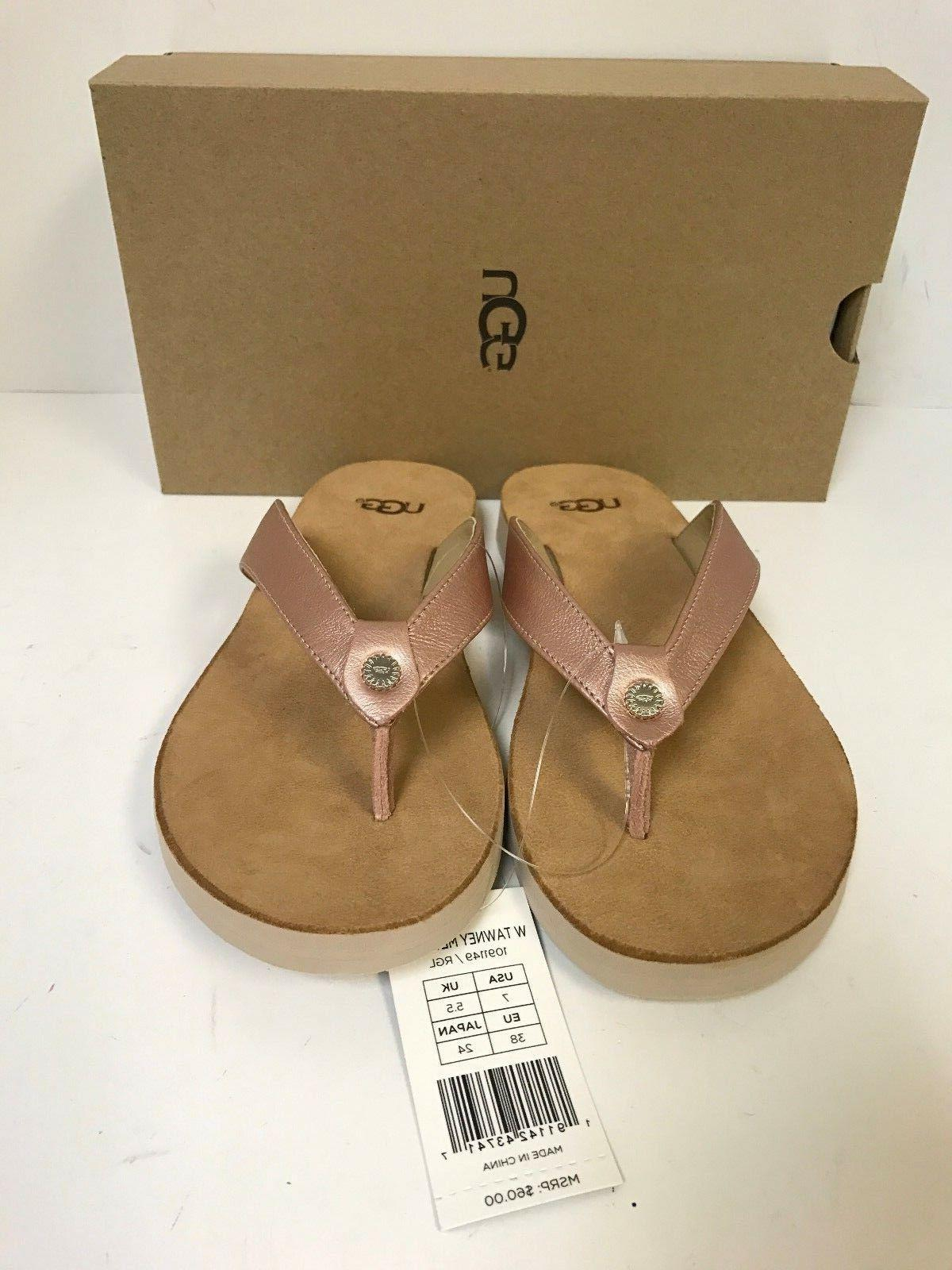 UGG Gold Leather