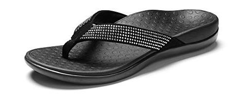 tide rhinestone toepost thong sandal