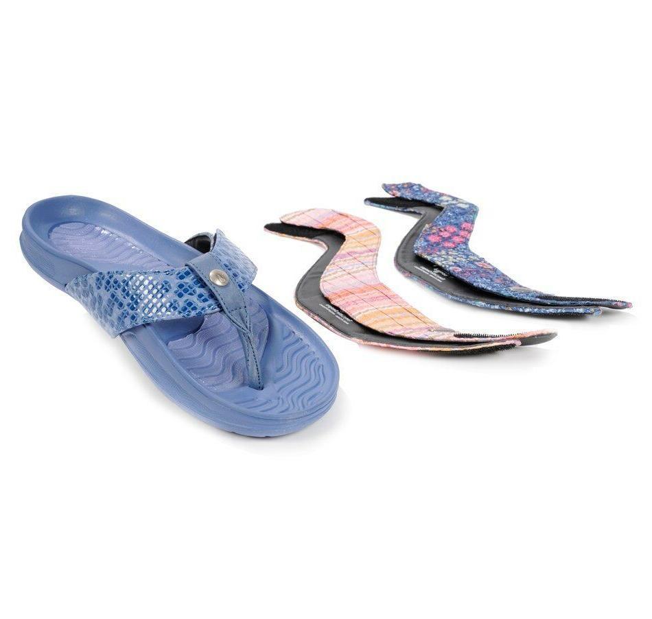 tony little cheeks exercise flip flops sandals