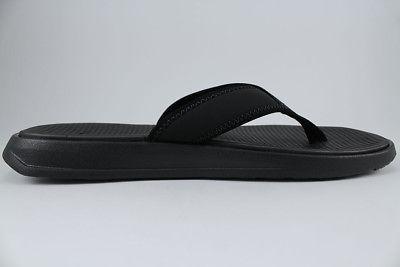 NIKE THONG BLACK/WHITE FLOPS SIZES