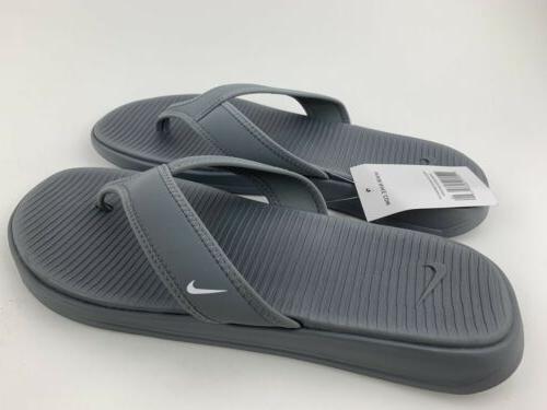 Nike Ultra Thong Men's Flip Flops Gray Brand