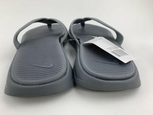 Nike Thong Men's Flip Gray White Brand