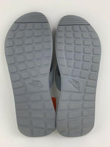 Nike Men's Flops Gray White New