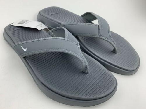 Nike Ultra Celso Men's Sandals Gray White Brand New
