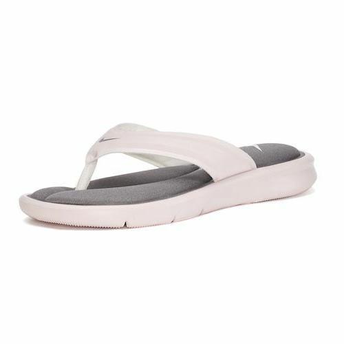 ultra comfort sandals flip flops barely rose