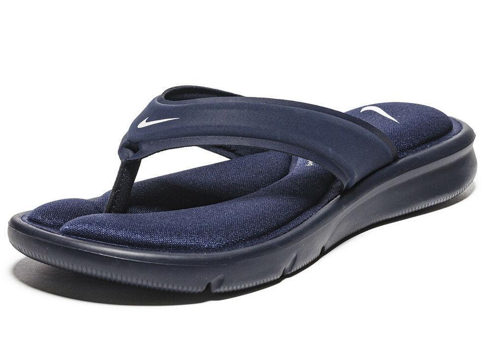 ultra comfort sandals flip flops obsidian blue