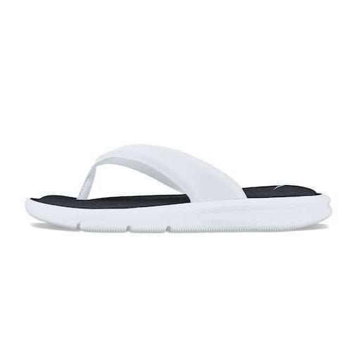 ultra comfort sandals flip flops white women