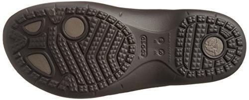 crocs Flip-Flop, Espresso/Walnut, M US / M US