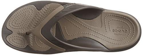 crocs Unisex Sport Flip-Flop, US / M