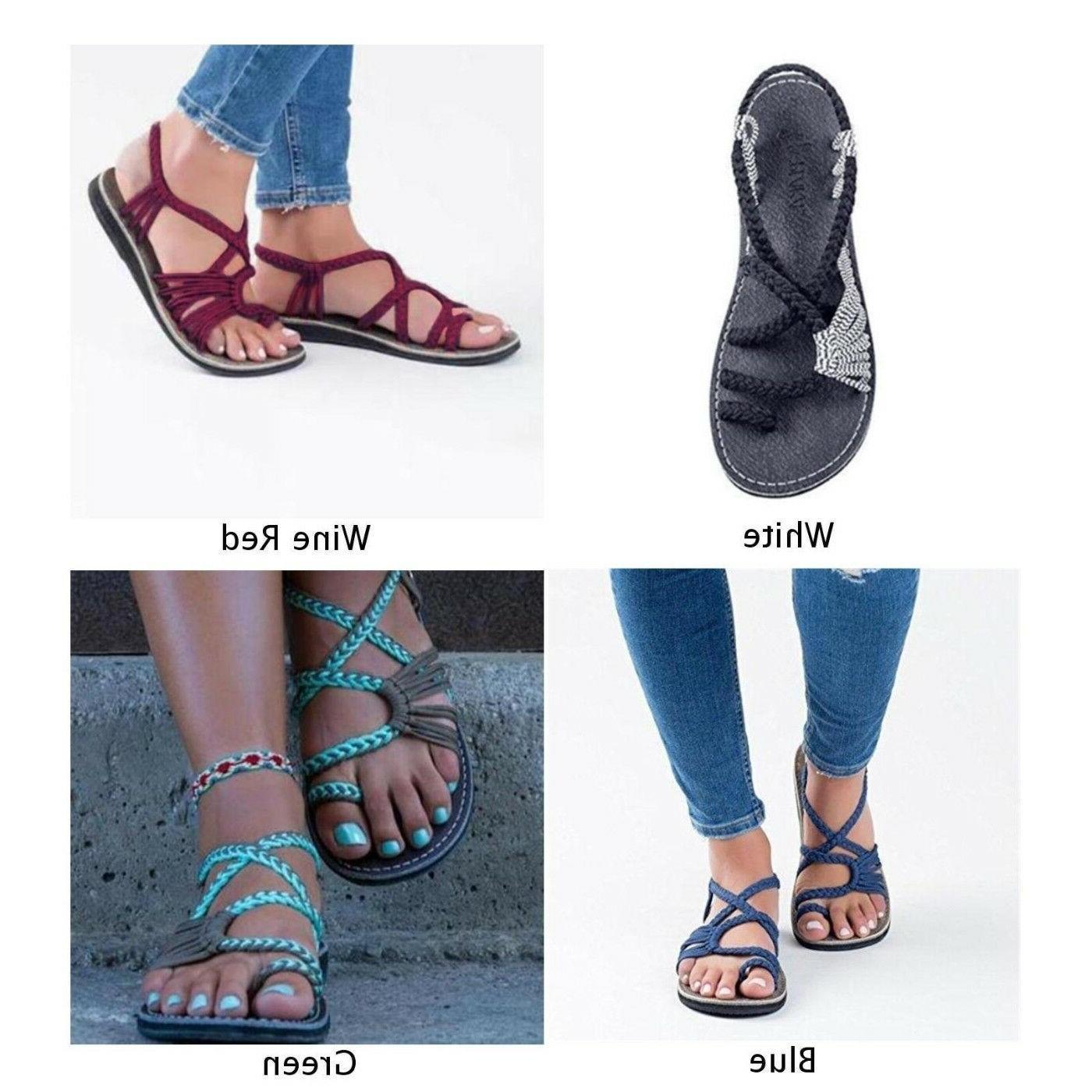 US Flip Flops Sandals Bandages Beach Summer