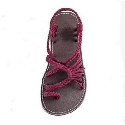 US Bohemian Flip Bandages Casual Shoes Summer