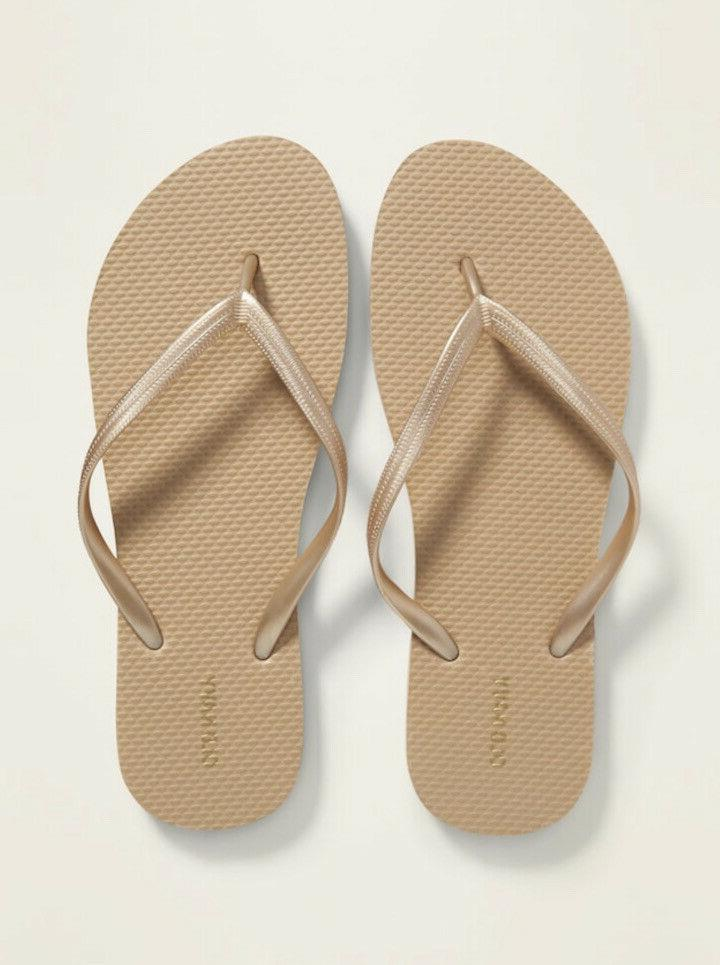 Old Navy Woman Flip Flops Size 11 NEW
