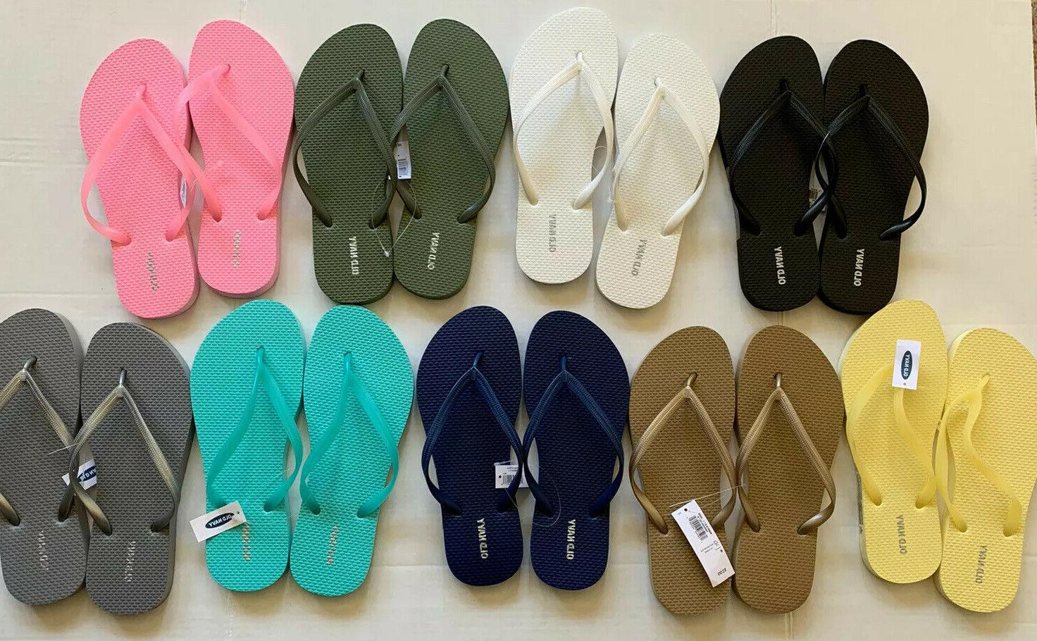 Old Navy Flops Summer Size 11 NEW