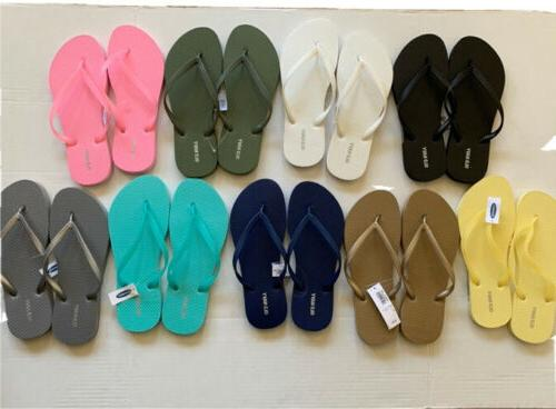 woman flip flops sandals summer beach size