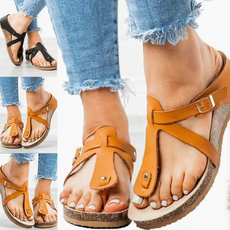 Womens Summer Gladiator Sandals Slides Shoes