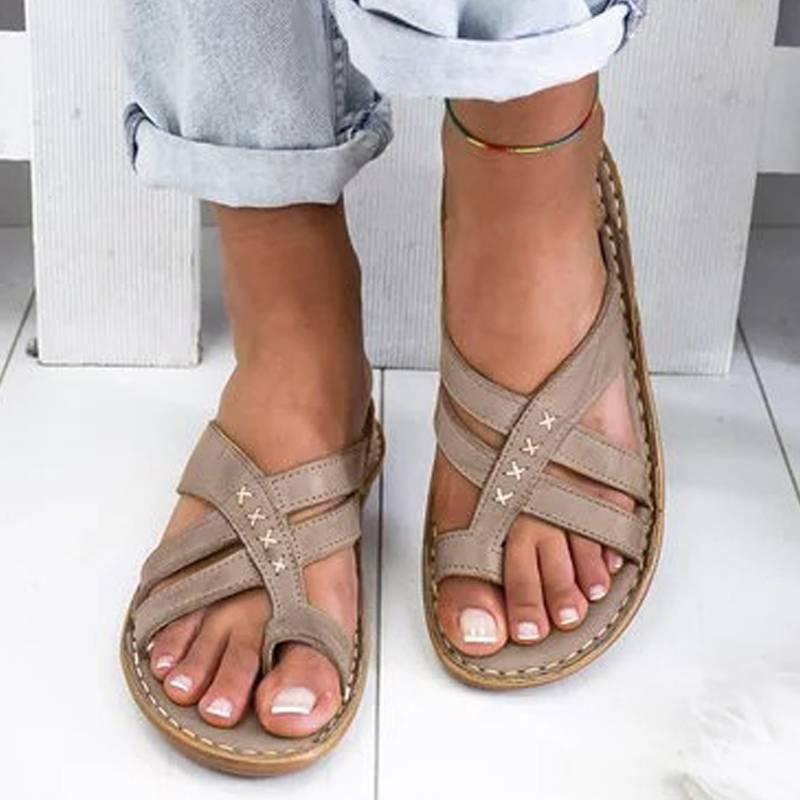 Women Flops Open Comfy Shoes Size