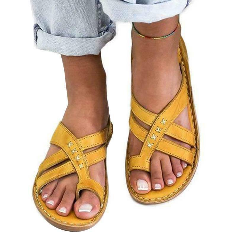 Women Flip Flops Toe Flat Size