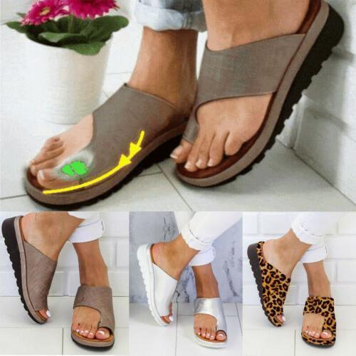 Women Slip On Sandals Slipper Summer Flip Shoes