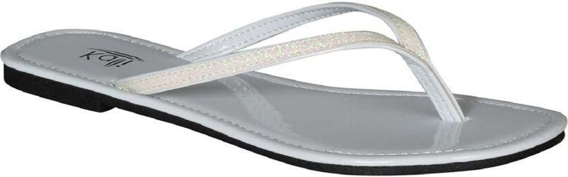 women s focus glitter flip flops