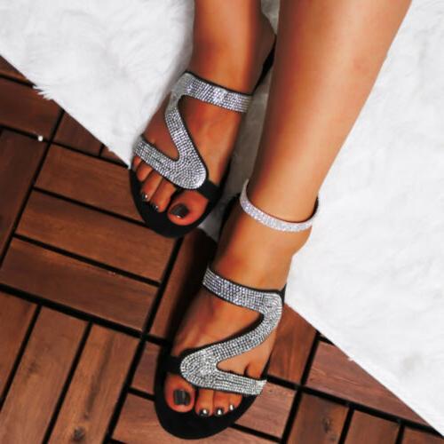 Women's Glitter Slipper Summer Casual Shoes
