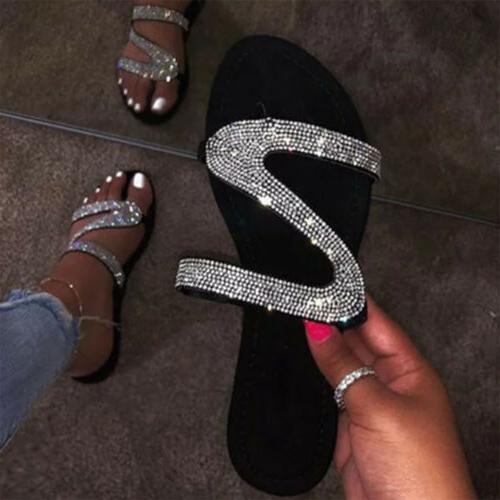 Women's Slipper Flip Flops Summer Casual Flat