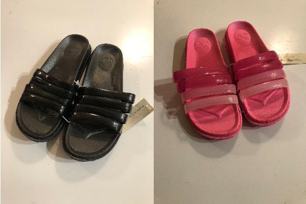 women s jellie slides flip flops sandals