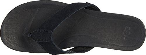 UGG Women's Flip-Flop, BLK, M US