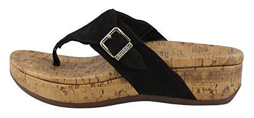 women s marbella thong sandal black 7