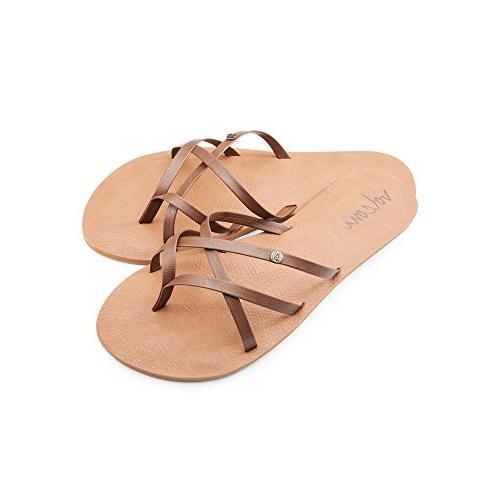 women s new school dress flat sandal