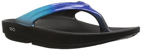 women s oolala thong flip flop black