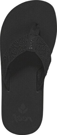 Women's Reef Sandals Flip Flops - Sandy - Black - BK2 - RF00