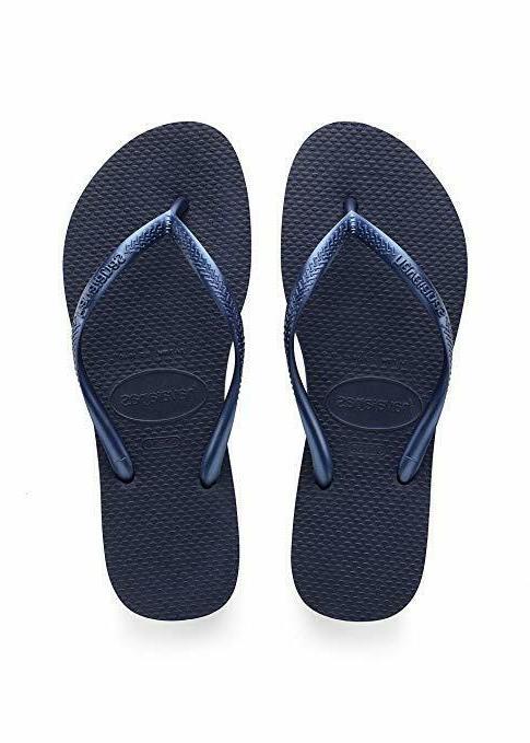 women s slim flip flop sandal navy