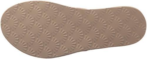 UGG Tawney Flip-Flop, Rose Gold, 7 M US