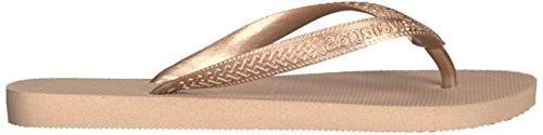 Havaianas Women's Top Sandals, Rose Gold, BR
