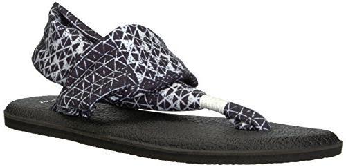 women s yoga sling 2 sandal black