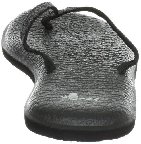 Sanuk 2 Flop,Black,5 M US