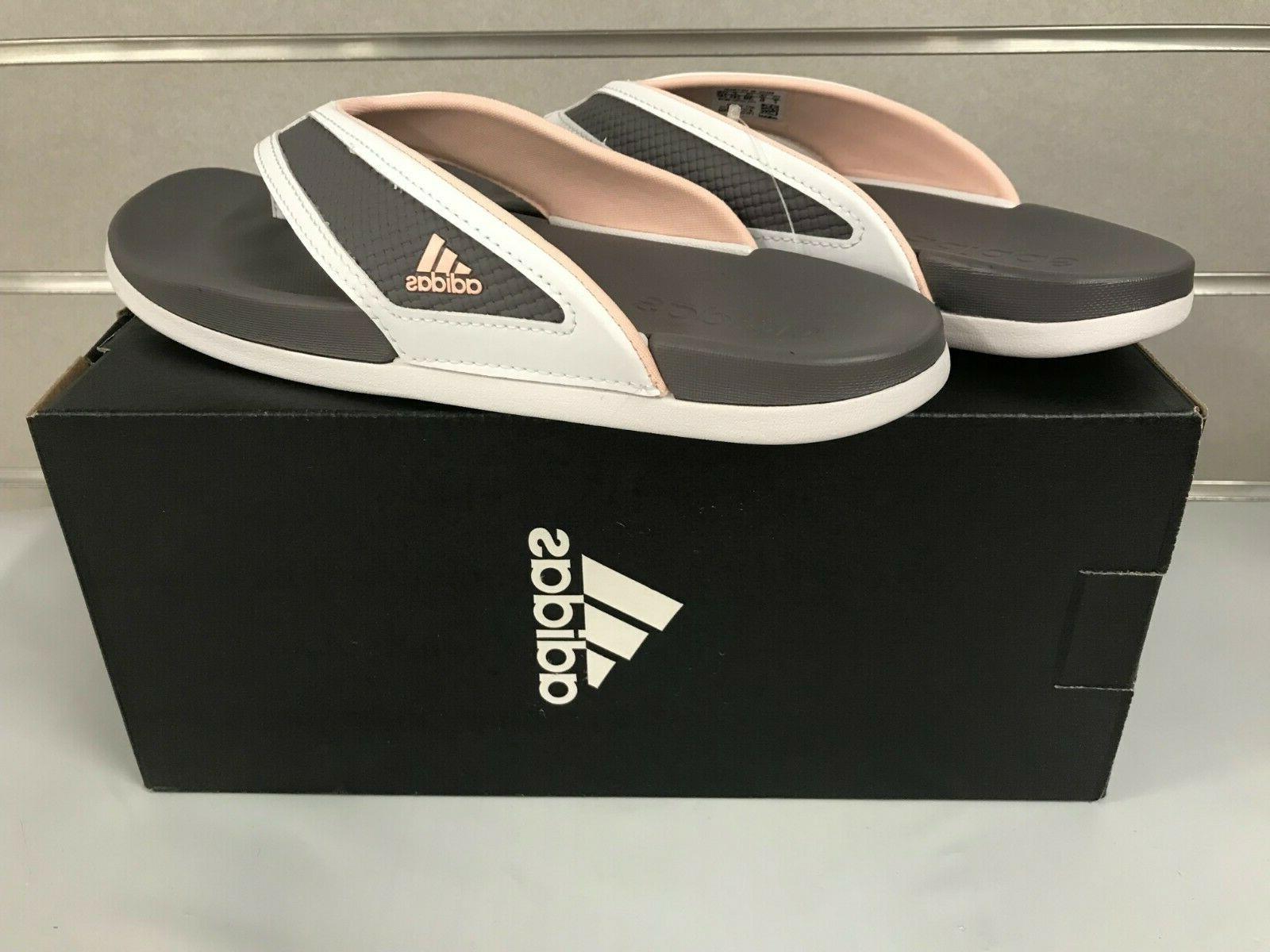 Adidas CF+Summer Flip S81199 GREY/PINK Sz