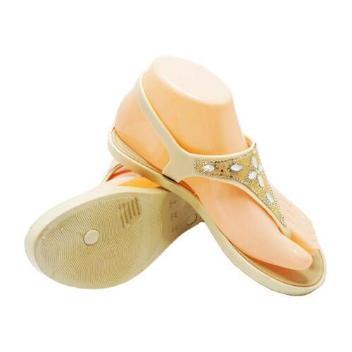 Womens Sandals Flip Flops Summer Flat Sandals