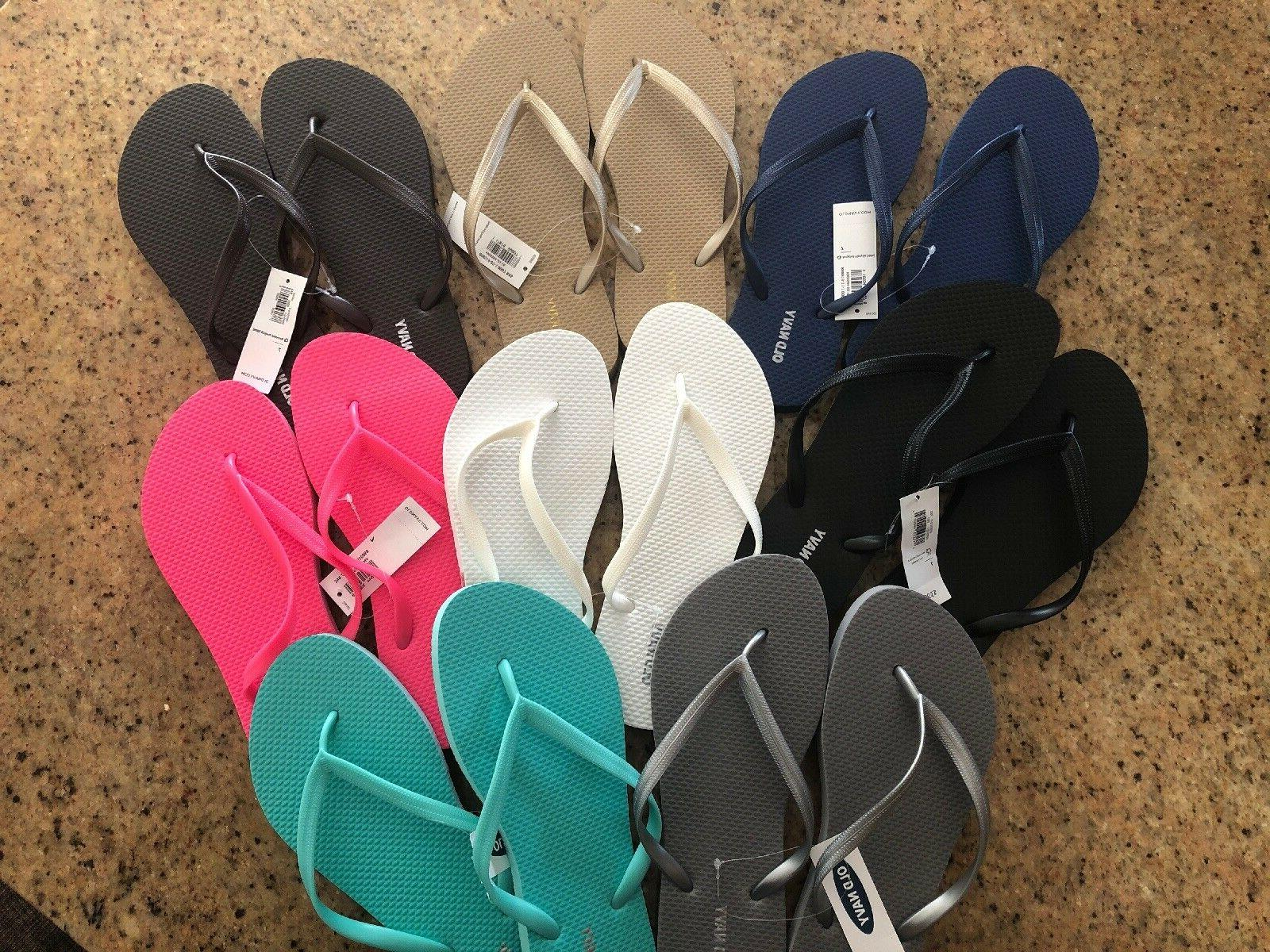 Old Womens Flip Flops Colors & Sizes Sizes 6,7,8