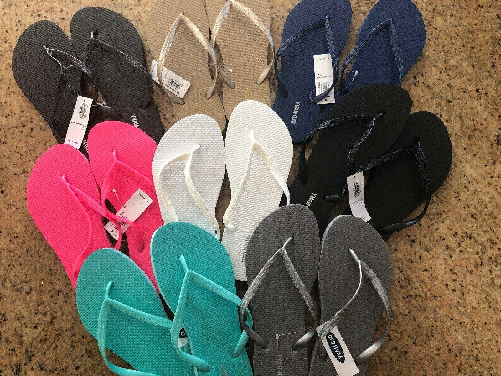 womens flip flops assorted colors and sizes