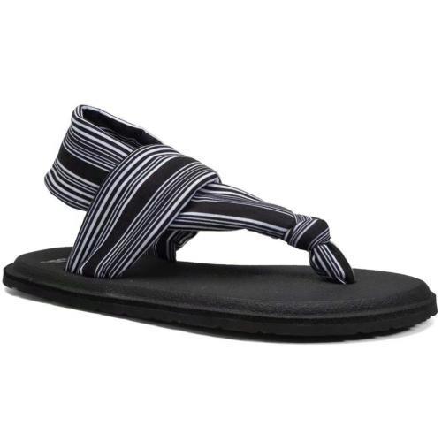 CIOR Womens Flip Flops Yoga Flat Sling Thong Sandals Lightwe