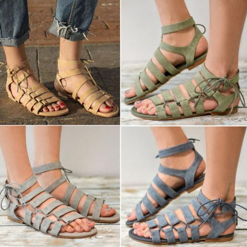 Womens Gladiator Sandals Thong Flip T Strap Size Strappy