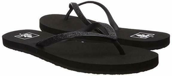 womens sandals stargazer glitter flip flops soft