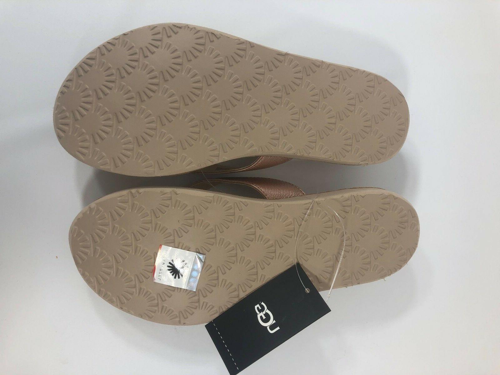 UGG Tawney Metallic Flip-Flop,