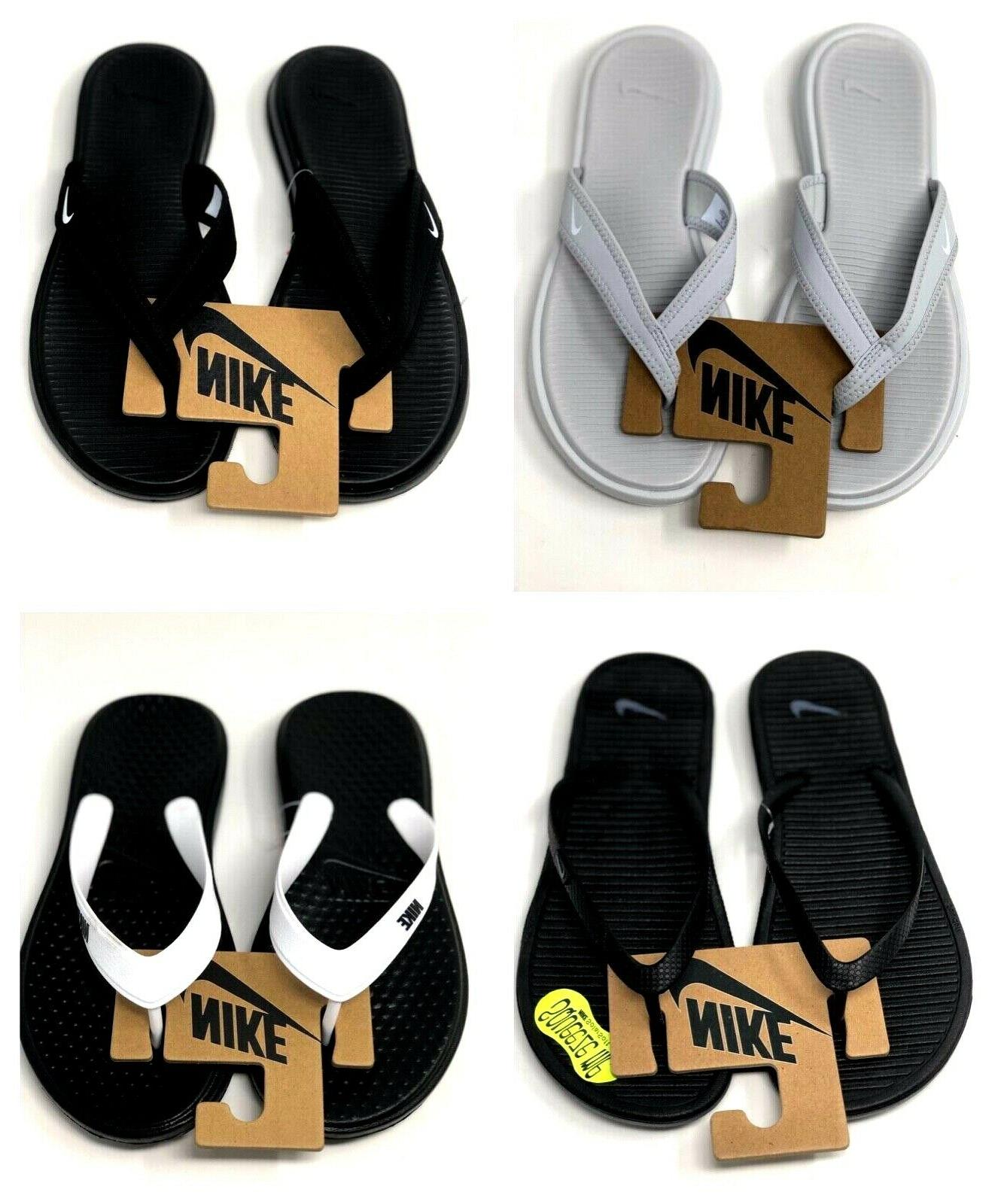 Nike Thong Sport Sandals Flip Flops Celso Comfort Solay Solarsoft 2