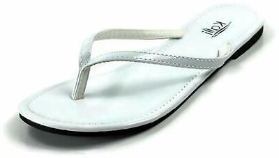 womens twins open toe casual white size