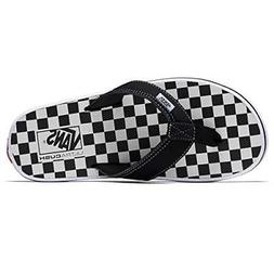 Vans LA Costa Lite Thong Sandal Checkerboard Black/White Men