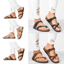 Ladies Women Toe Post Sandals Flip Flops Platform Casual Sli