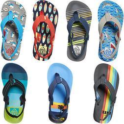 Reef Little Ahi Kids Boys Summer Beach Holiday Pool Slip On