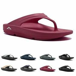 Fanture Men & Women's Flip Flops Arch Support Sandals, 19.cr
